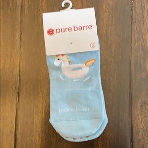 Pure Barre Pool Slipper Socks